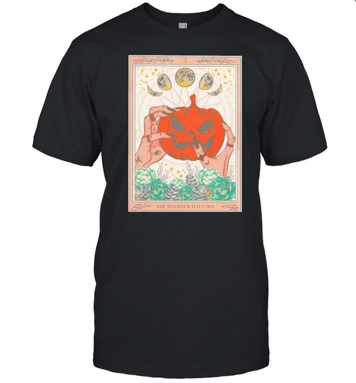 The haunted hallow pumpkin Halloween shirt