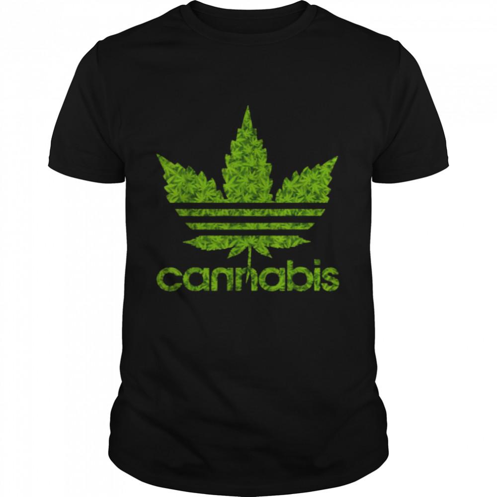 Cannabis Leaf 420 T- Classic Men's T-shirt