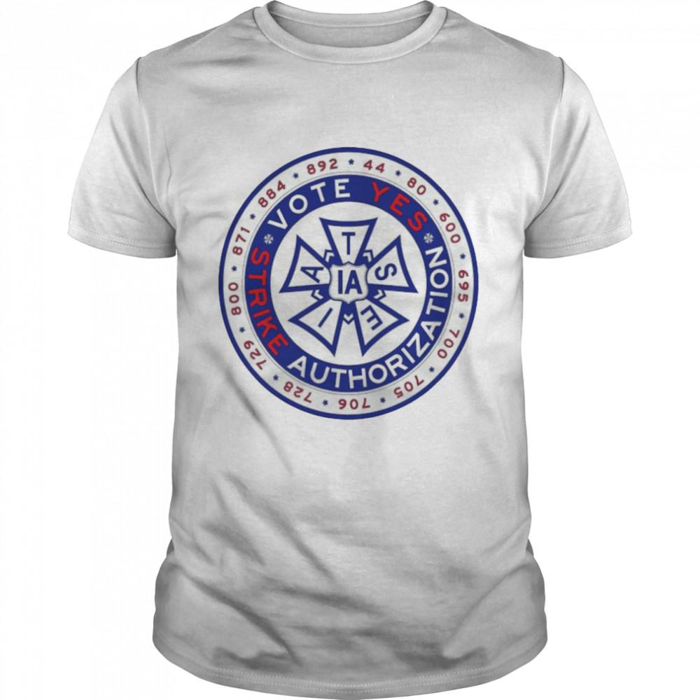 IATSE Vote yes Strike Authorization 2021 shirt Classic Men's T-shirt