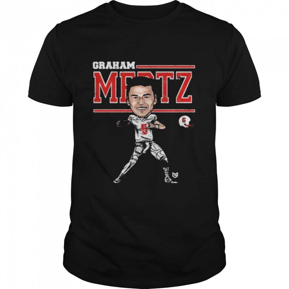 Graham Mertz Wisconsin Badgers Football Shirt