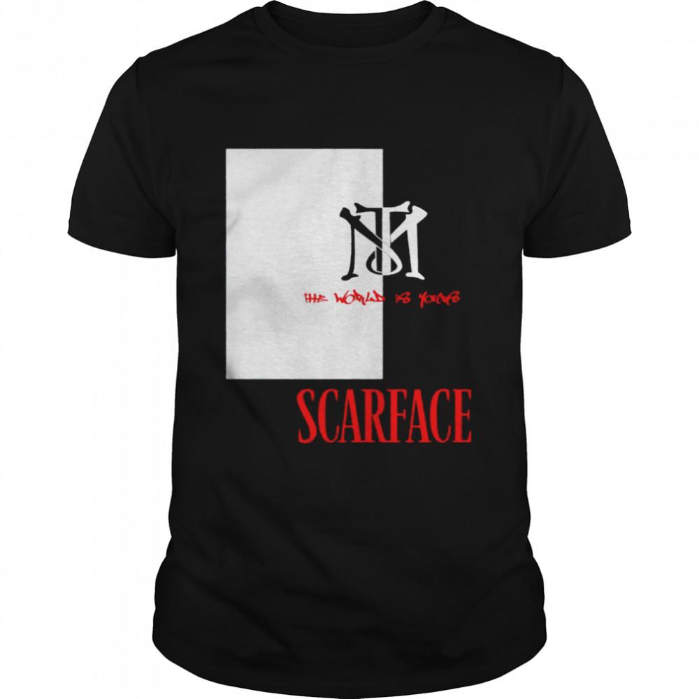 Tony Montana Scarface shirt Classic Men's T-shirt