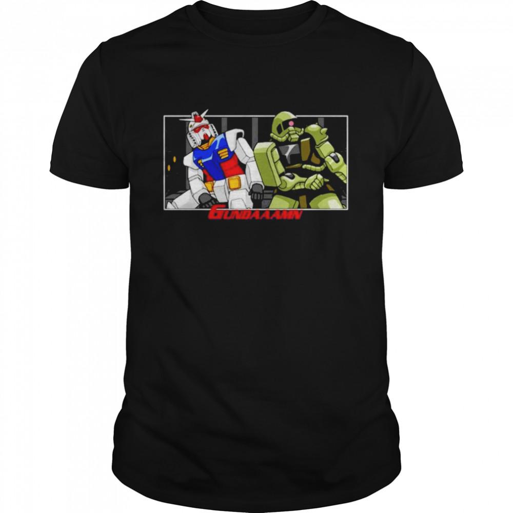 Gundaaamn shirt Classic Men's T-shirt