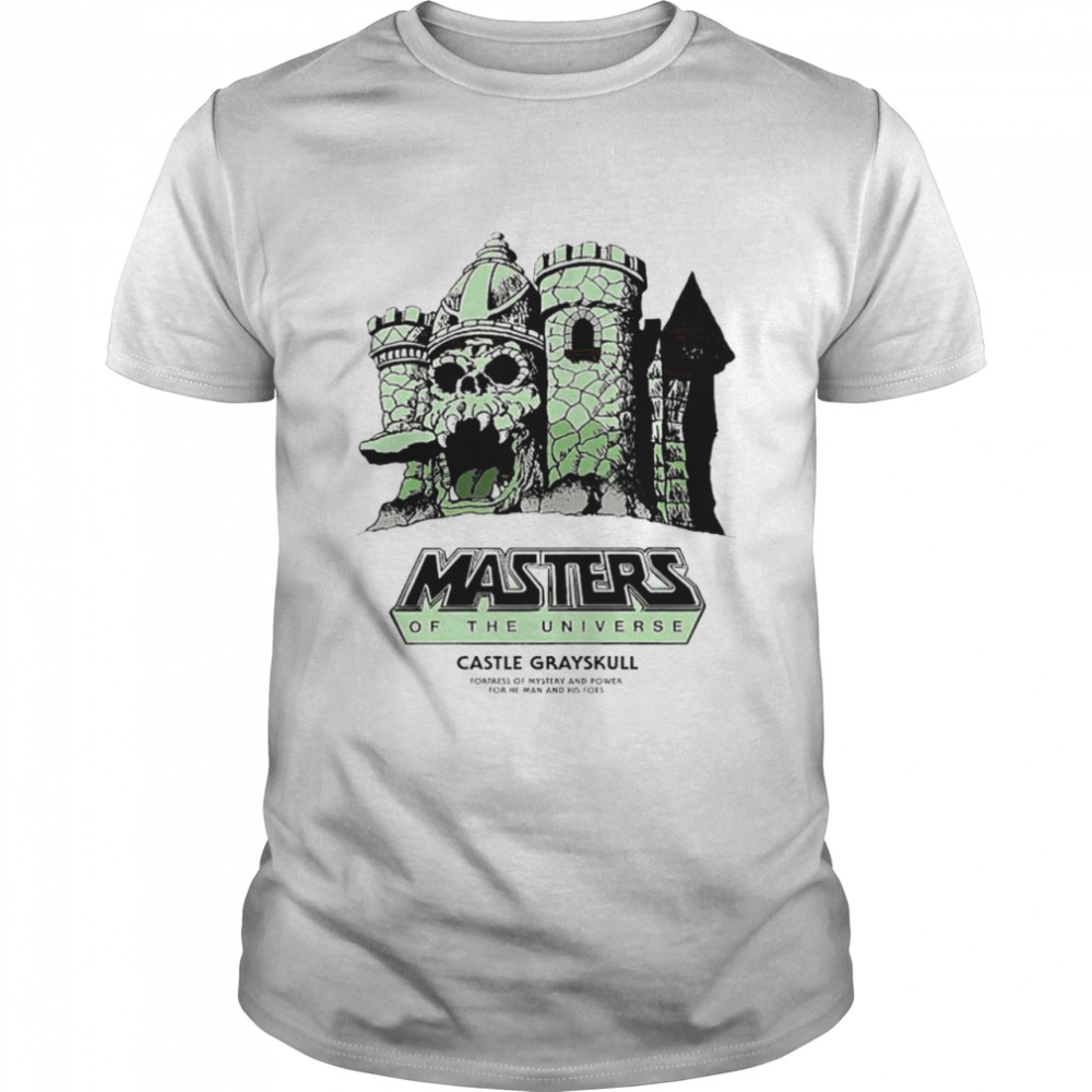Masters of the Universe Castle Grayskull fortress of mystery and power for he man and his foes shirt Classic Men's T-shirt