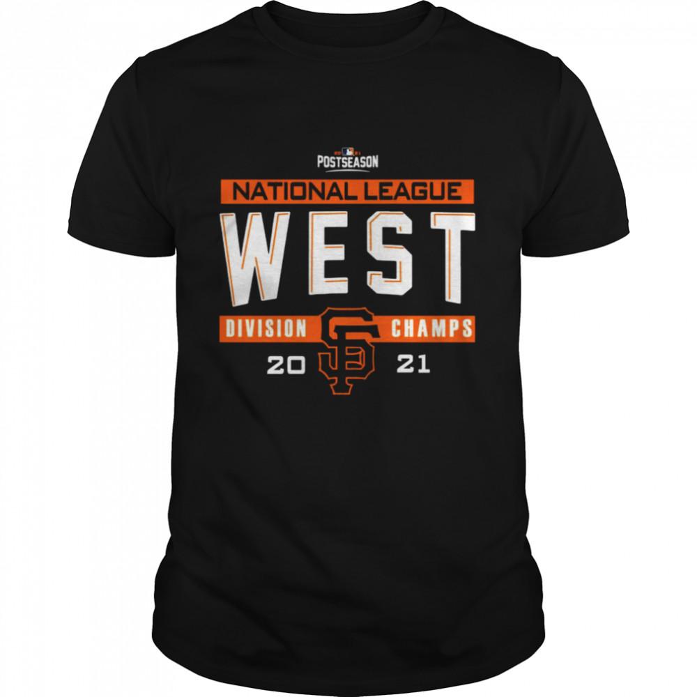 San Francisco Giants 2021 NL West Division Champions Locker Room shirt Classic Men's T-shirt