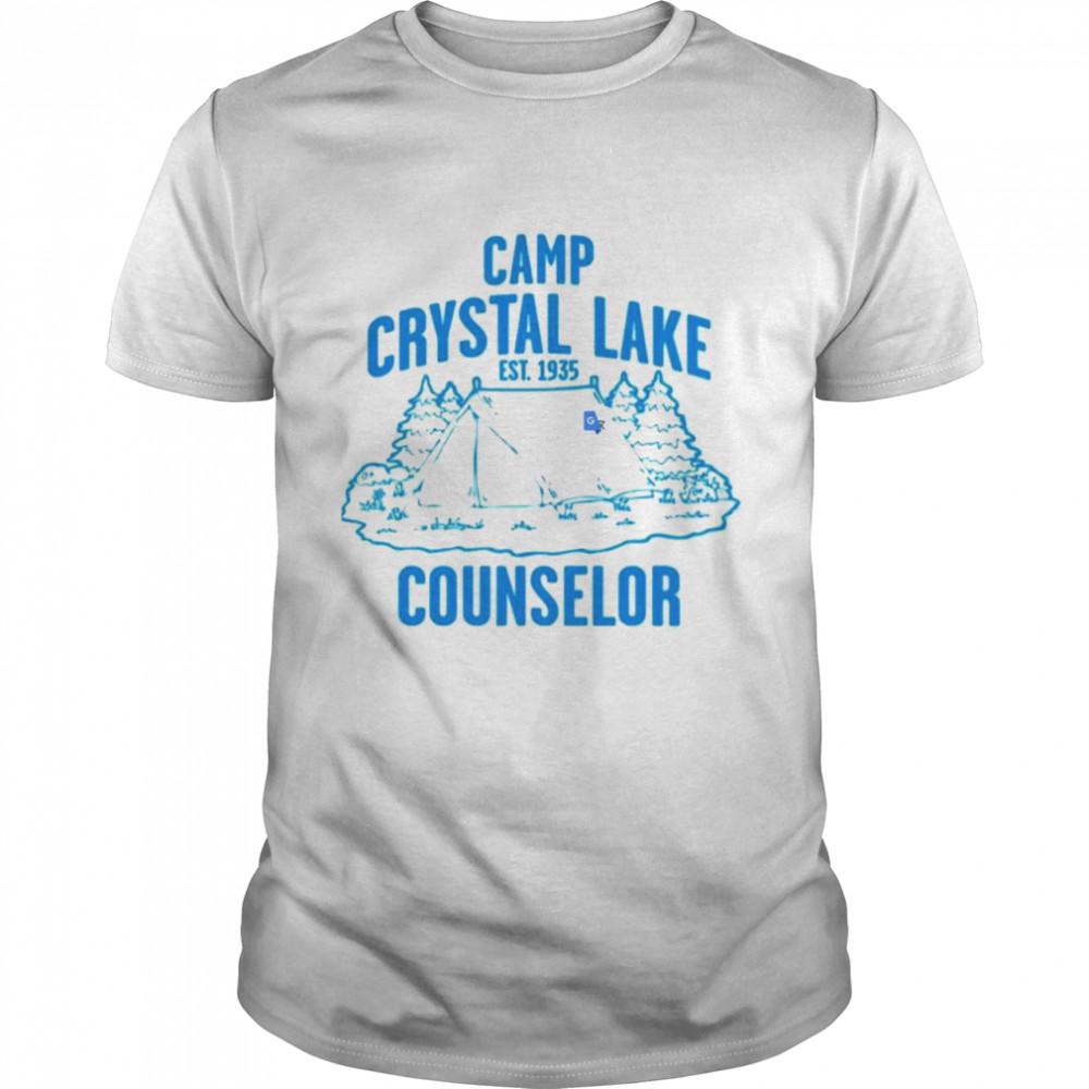 Camp Crystal Lake Counselor EST 1935 shirt Classic Men's T-shirt