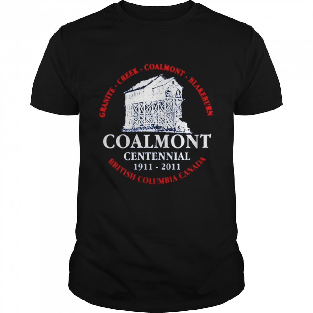 Granite creek coalmont blakeburn british Columbia Canada Coalmont Centennial shirt Classic Men's T-shirt
