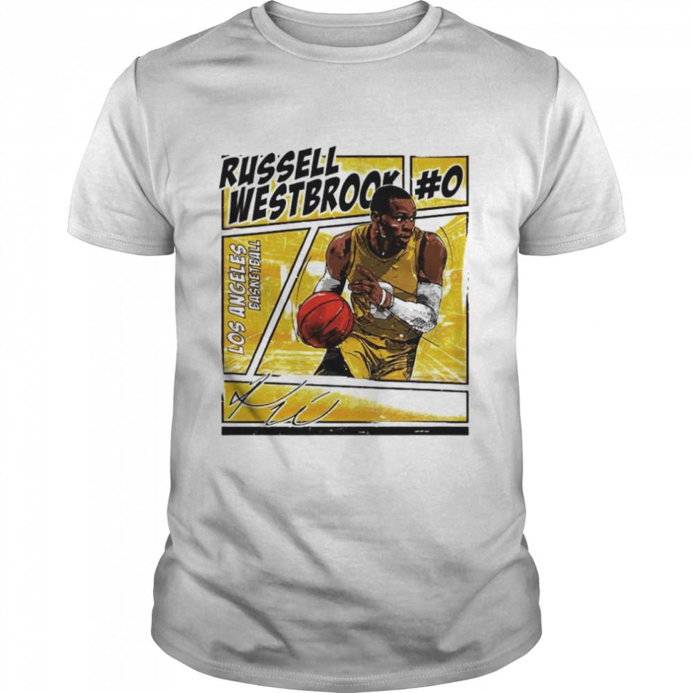 Los Angeles basketball Russell Westbrook signature shirt Classic Men's T-shirt