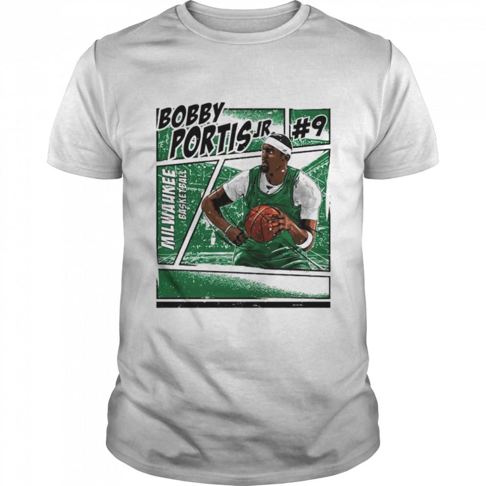 Milwaukee basketball Bobby Portis Jr signature shirt Classic Men's T-shirt