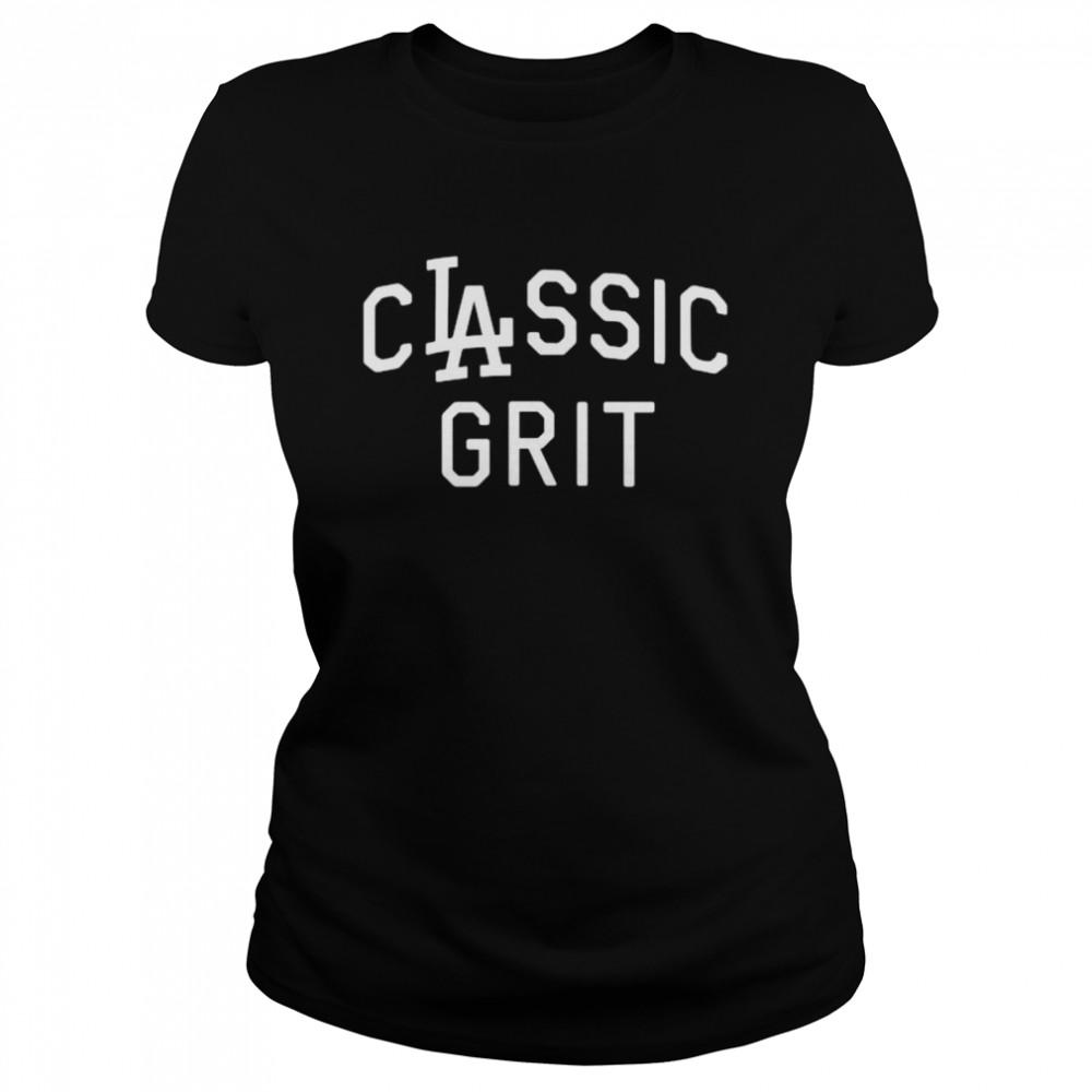Clayton kershaw los angeles dodgers classic grit shirt Classic Women's T-shirt