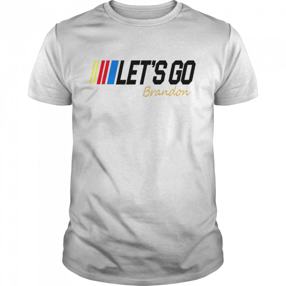 Let's Go Brandon signature shirt Classic Men's T-shirt