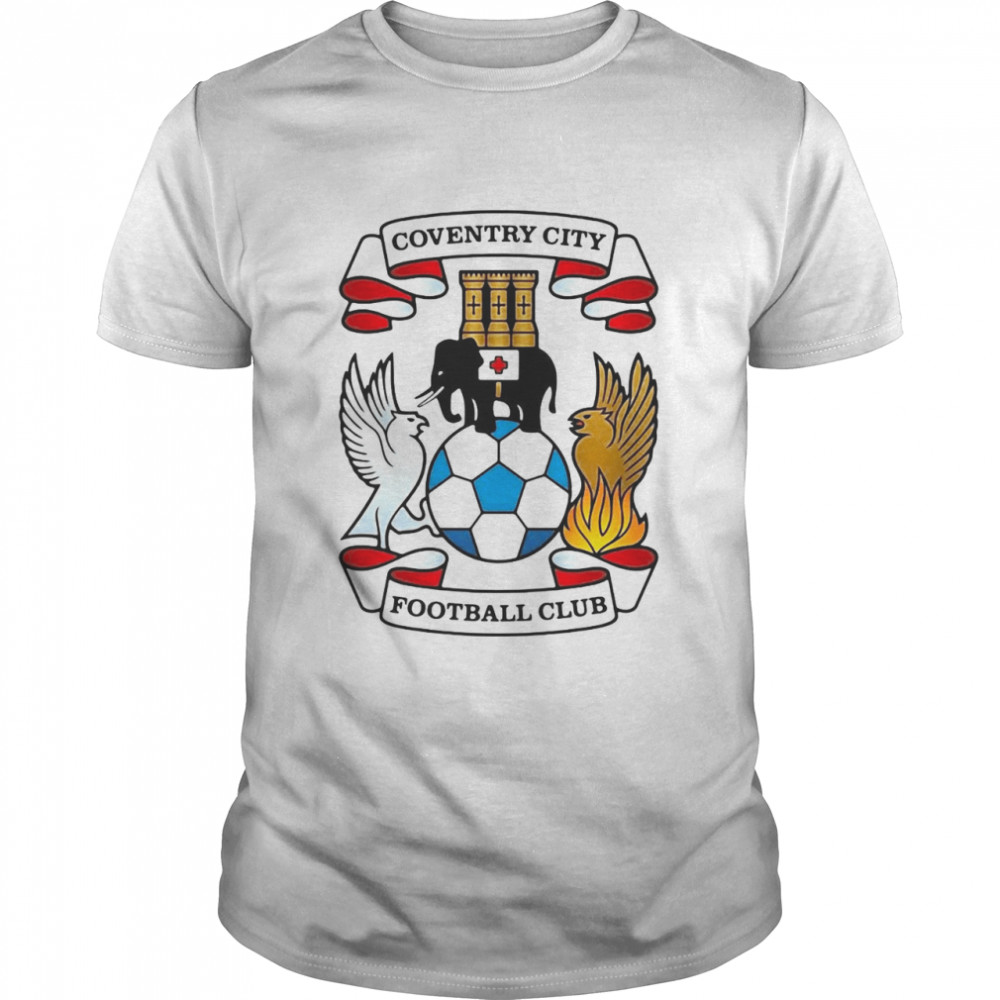 Elephant Coventry City Football Club T-shirt Classic Men's T-shirt
