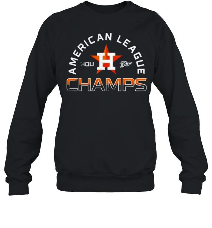 houston Astros World Series American League Champions 2021 shirt Unisex Sweatshirt