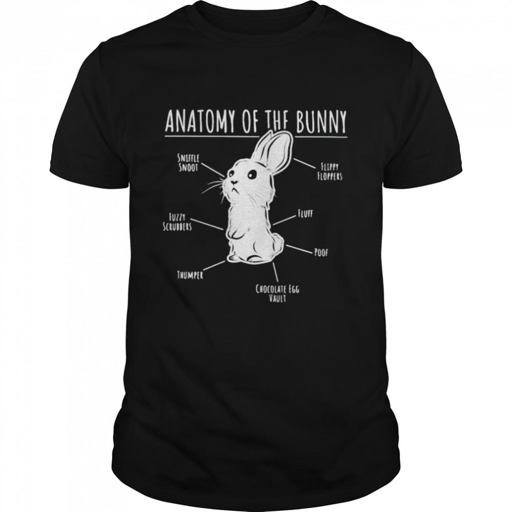 anatomy of the bunny shirt Classic Men's T-shirt