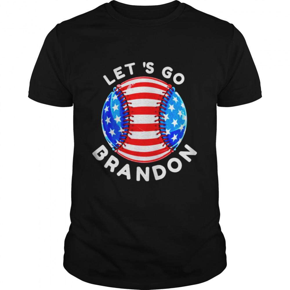 baseball let's go Brandon shirt Classic Men's T-shirt