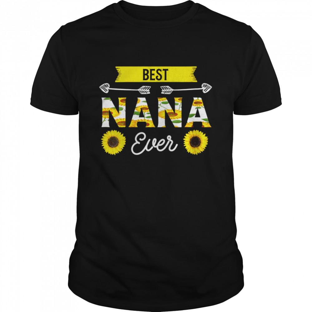 Best Nana ever Grandmother  Classic Men's T-shirt