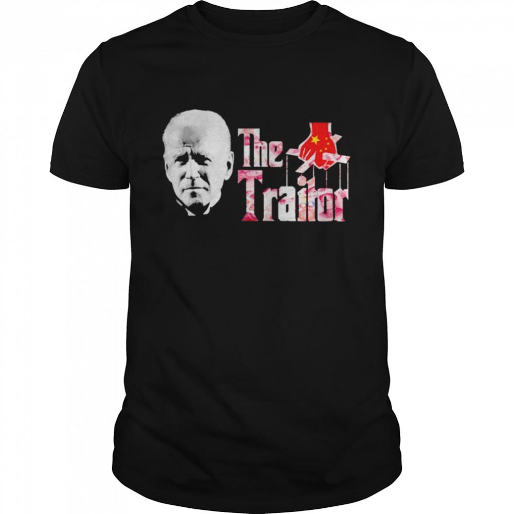 biden the Godfather the traitor shirt Classic Men's T-shirt