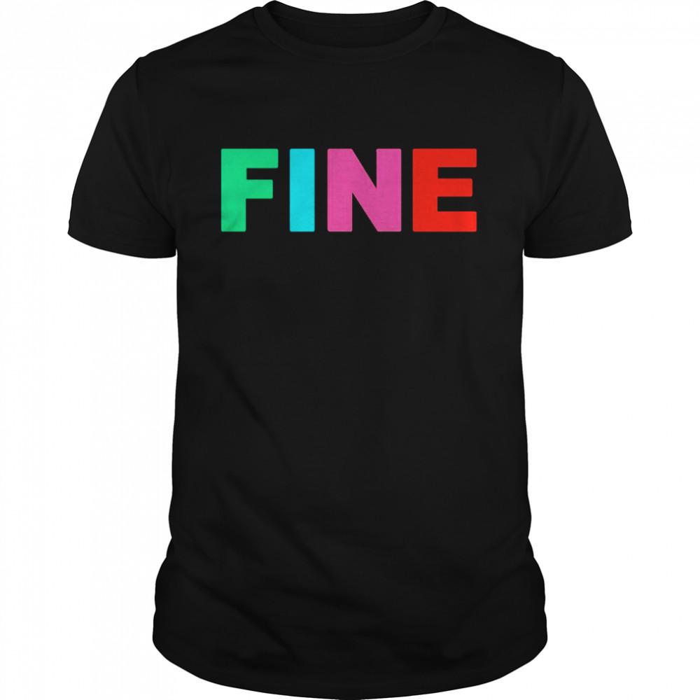color fine shirt Classic Men's T-shirt