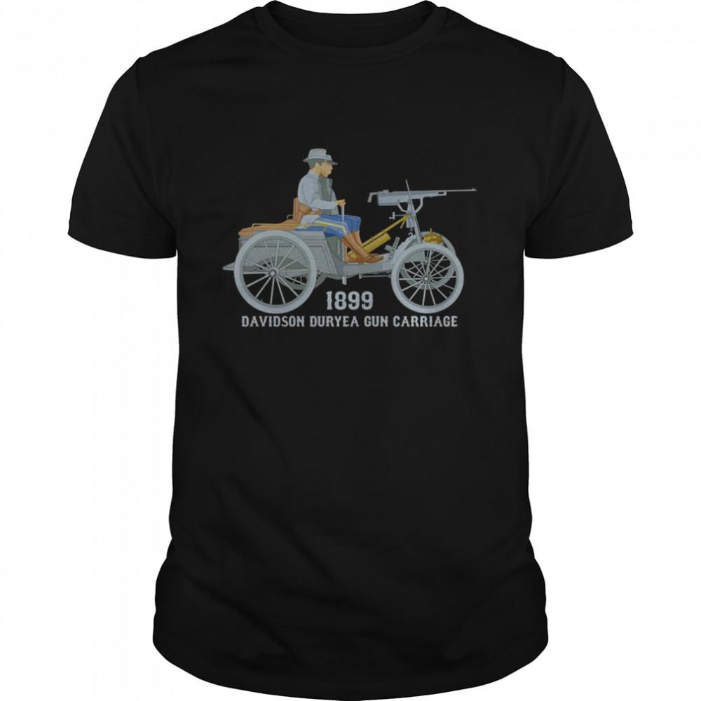 Davidson Duryea Geschützwagen Amerikanisches gepanzertes Langarmshirt  Classic Men's T-shirt