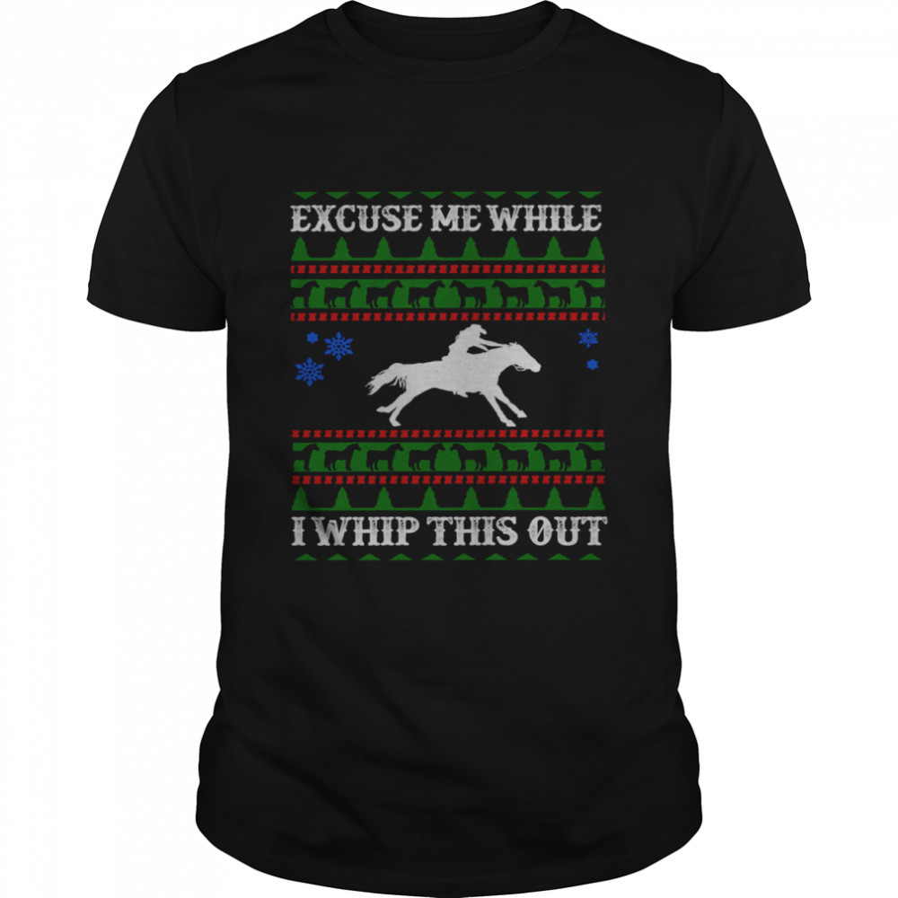 Excuse Me While I Whip This Out  Classic Men's T-shirt