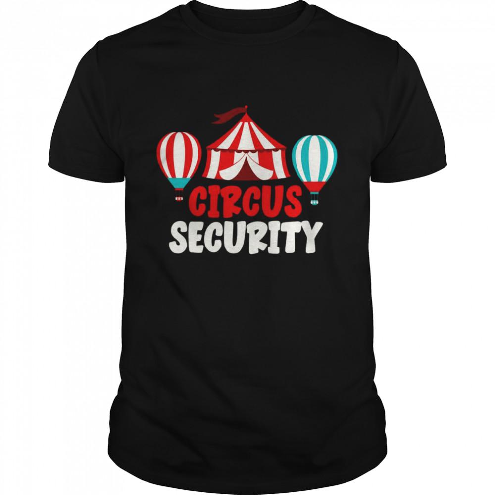 Fasching Security Karneval Zirkus Artist Zirkus  Classic Men's T-shirt