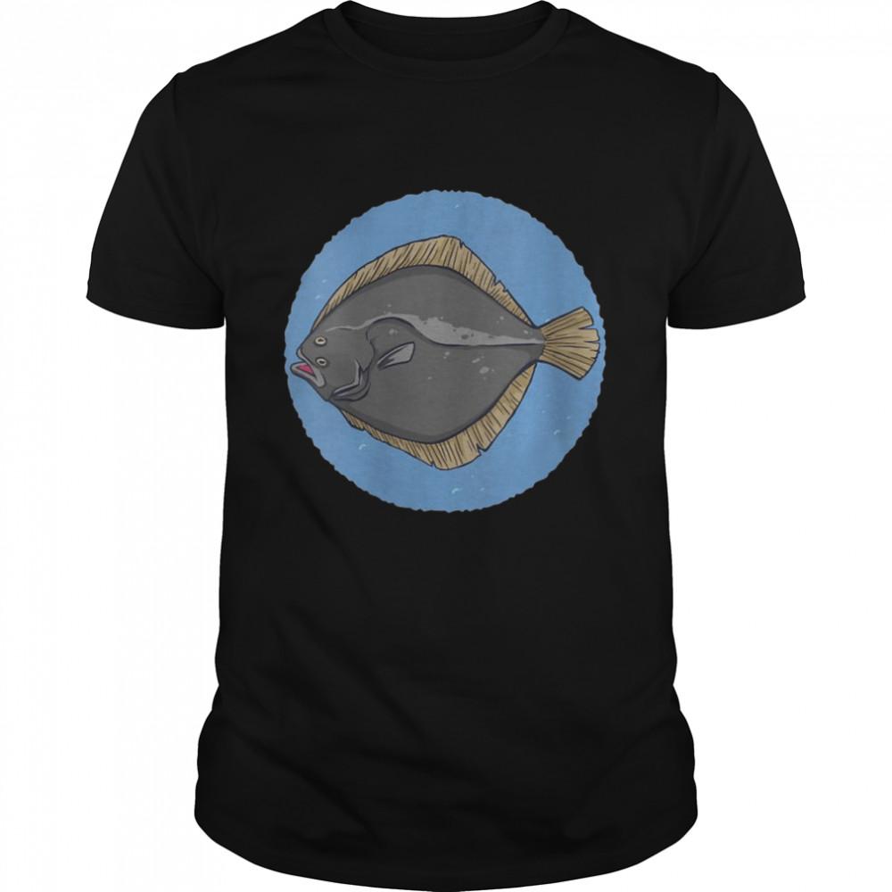 Fishing fisherman angler plaice fish fishing rod fishing  Classic Men's T-shirt