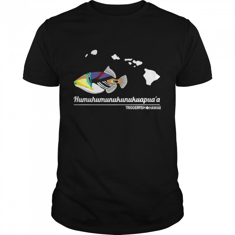 Humuhumunukunukuapuaa hawaiI state fish t-shirt Classic Men's T-shirt