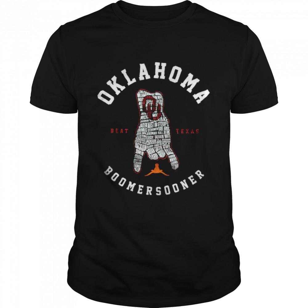 Oklahoma Boomer Sooners Beat Texas shirt Classic Men's T-shirt