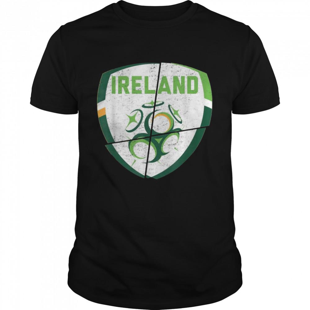Republic of Ireland football shirt Irish Flag 2021  Classic Men's T-shirt