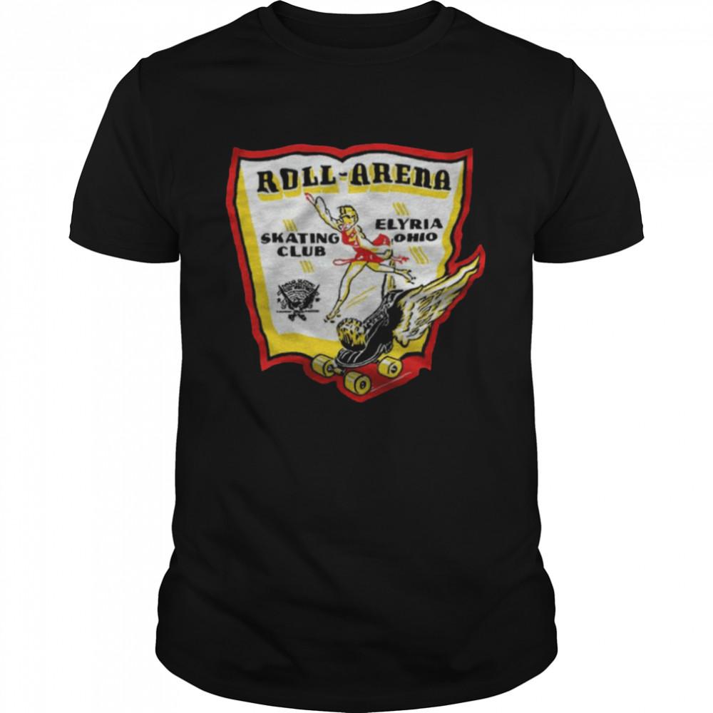 Roll-Arena Skating Club Elyria Ohio T- Classic Men's T-shirt