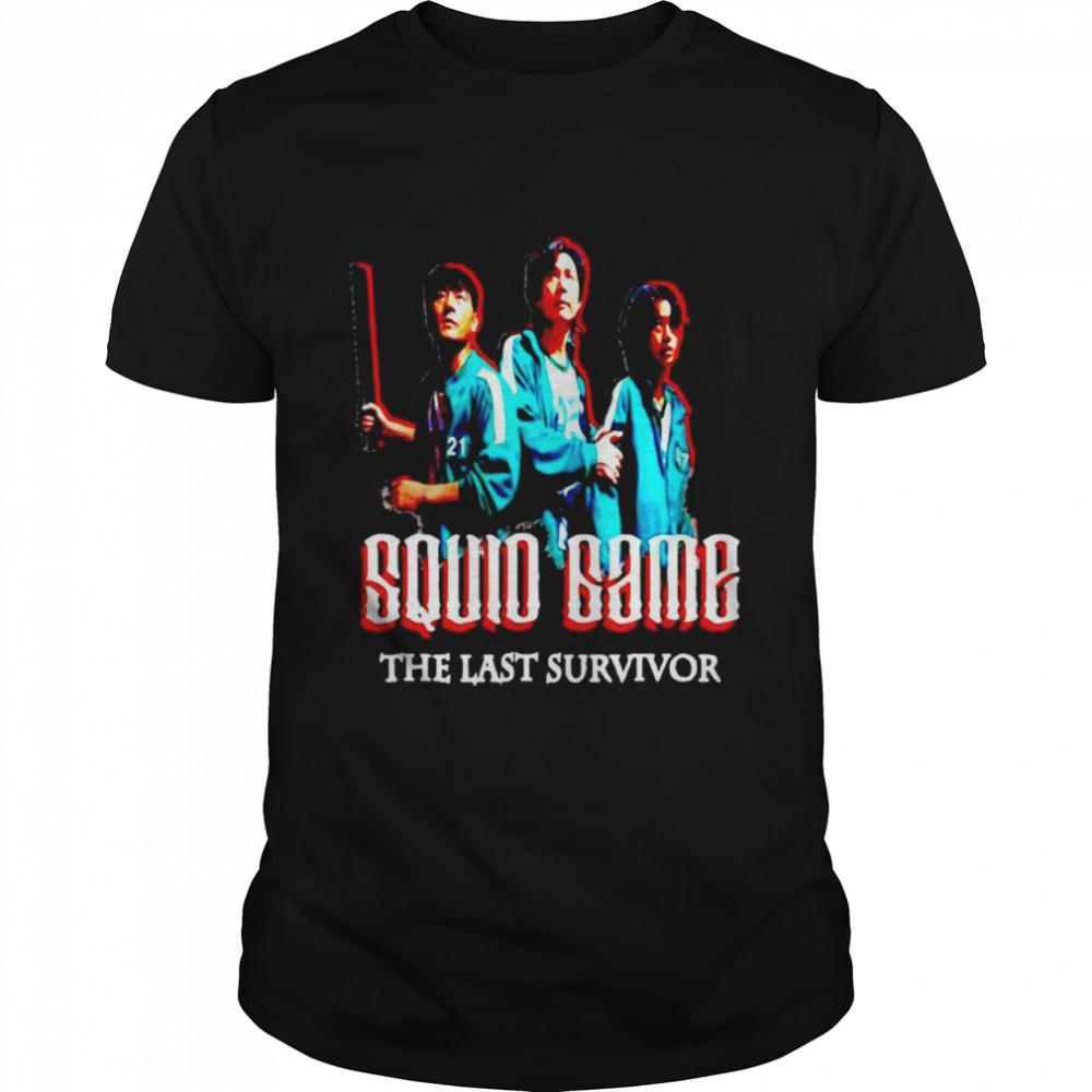 Squid Game The Last Survivor Korean Movie  Classic Men's T-shirt