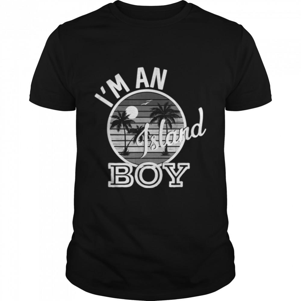 I'm An Island Boy Funny Rap Song Lyrics T-Shirt B09JZQX941