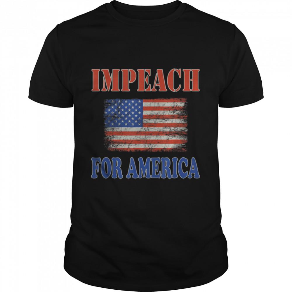 Impeach Joe Biden Republican Conservative Anti-Biden T-Shirt B09JW78YPC